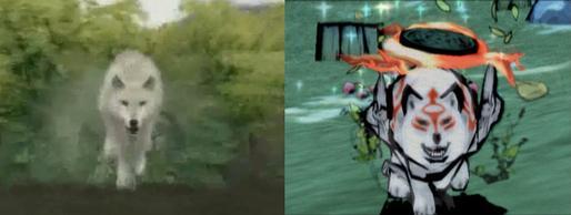 Ursprünglich sollte Okami einen eher realistischen Stil haben. Quelle: Capcom/Cloverfield Studios