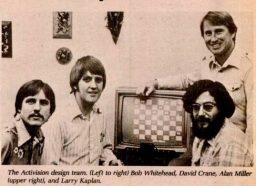 Das Gründungsteam von Activision im Jahre 1979. (Bild: Bill Lange)