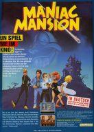 Maniac Mansion von Lucasfilm Ltd. 1987 - Ein Spiel wie im Kino! (Bild: Markt & Technik)