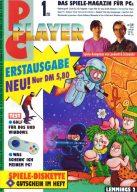 Die Erstausgabe der PC Player im Januar 1993. (Bild: Future Verlag)