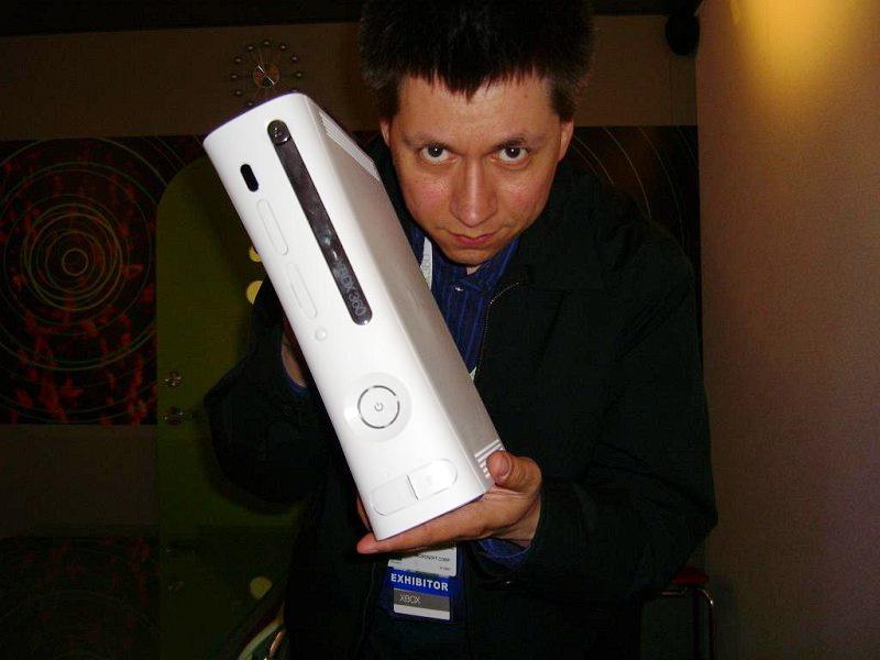 Boris Schneider-Johne als Mr. Xbox. Produktmanager für die nächste Spiele-Generation. (Bild: Boris Schneider-Johne)
