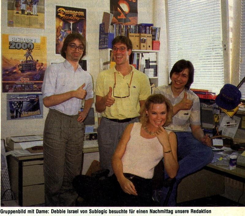 Natürlich besuchten auch bekannte Gesichter aus der Spielebranche die Redaktion. (Bild: Markt & Technik)