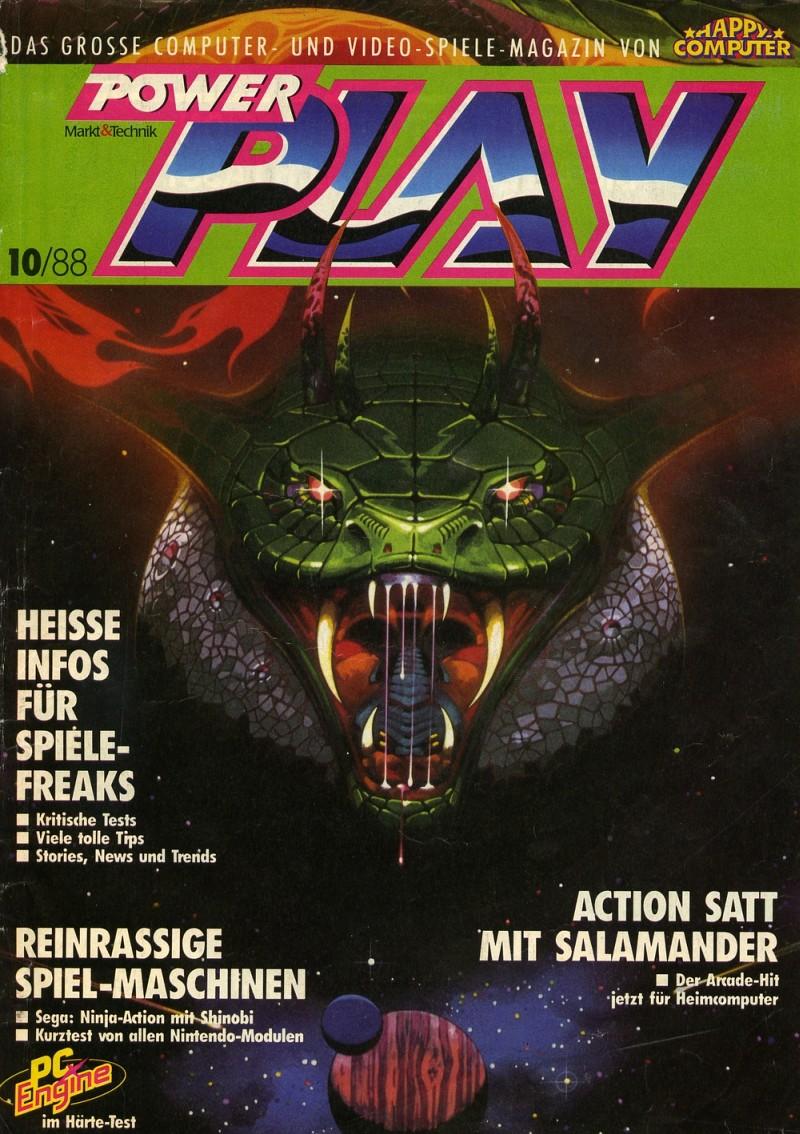 Power Play, Ausgabe 10/88. (Bild: Future Verlag)