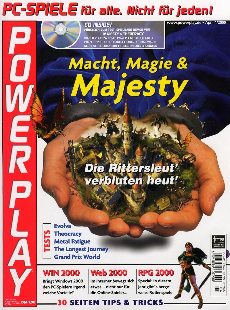 Power Play, Ausgabe 4/2000. (Bild: Future Verlag)