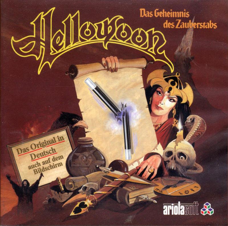 Das Textadventure Hellowoon wurde 1987 von Guido Henkel für Dragonware entwickelt. (Bild: Guido Henkel)