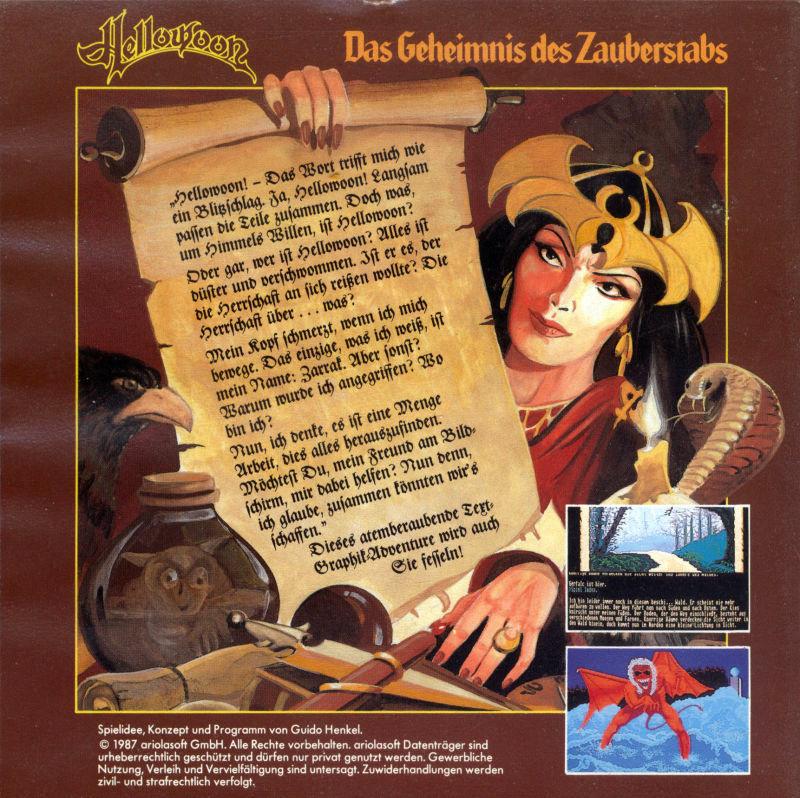 Die Handlung von Hellowoon wird über einen klassischen Textparser gesteuert. (Bild: Guido Henkel)