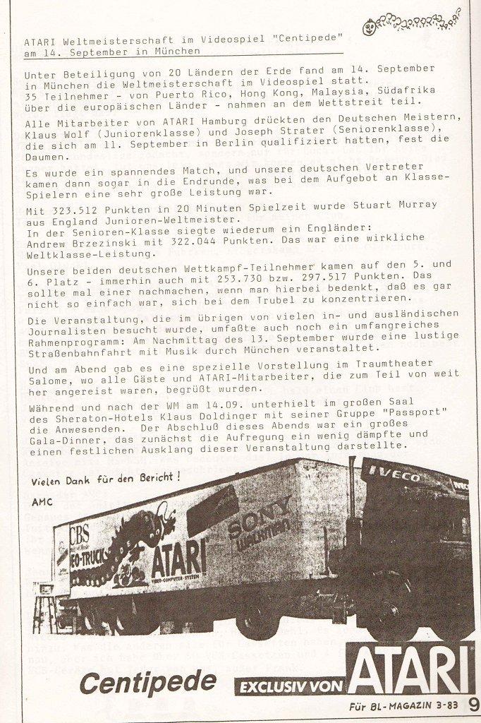 Bericht über die Atari Centipede-Weltmeisterschaft im Bundesliga-Magazin. (Bild: Atari)