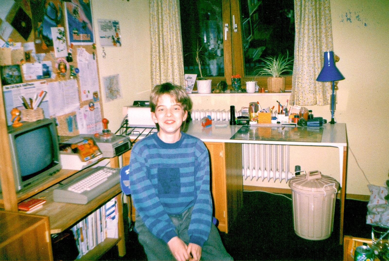 Die letzten Jahre mit dem C64 Anfang der Neunziger - vor den Amiga Jahren. (Bild: Jan Beta)