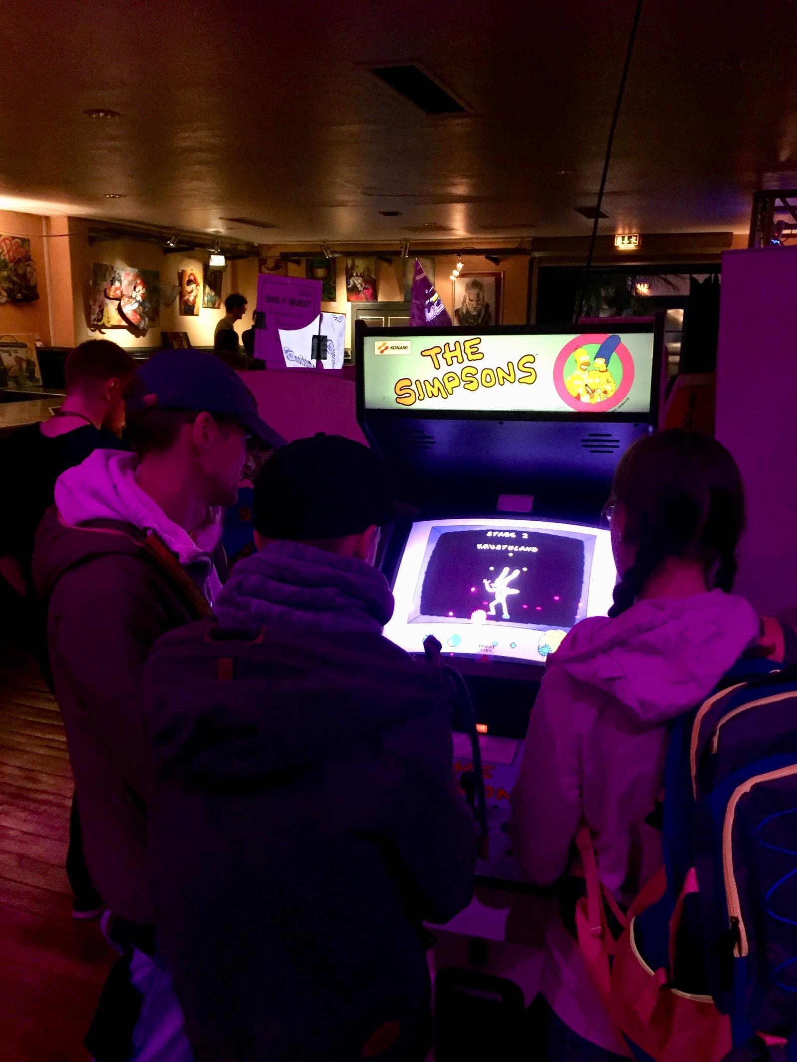 Dank des Flipper- und Arcademuseum Seligenstadt standen eine Auswahl von Videospielautomaten zur Verfügung. (Bild: André Eymann)