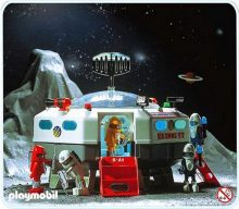 Die Playmobil-Raumstation. (Bild: Playmobil)