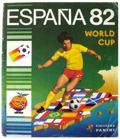 Panini-Stickerheft zur Fußball WM 1982. (Bild: Stickerpoint)
