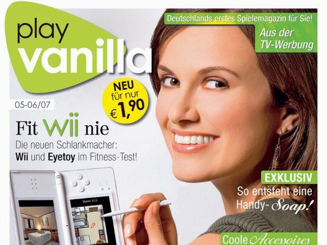 Die Zeitschrift Play Vanilla erschien 2007 zum ersten Mal. (Bild: Computec Media)