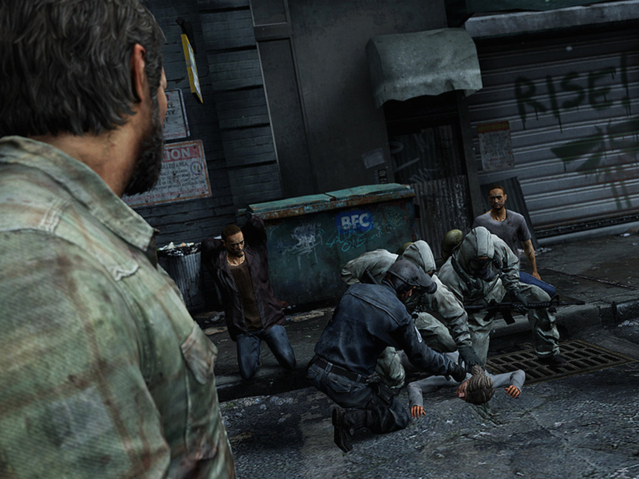 "Screenshot von ""The Last of Us"". (Bild: Sony)"