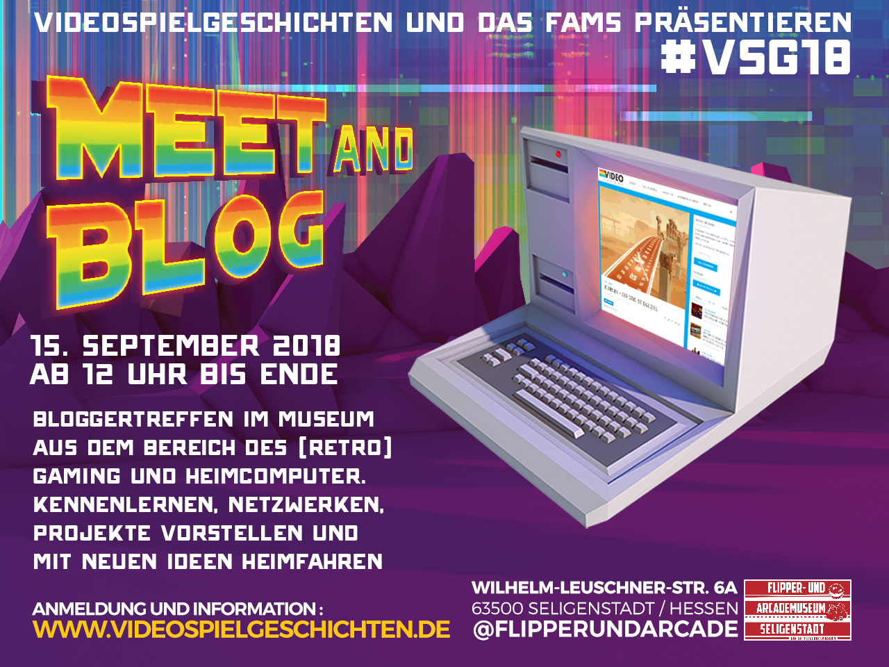 MEET AND BLOG am 15. September 2018 im FAMS (Bild: Senad Palic)