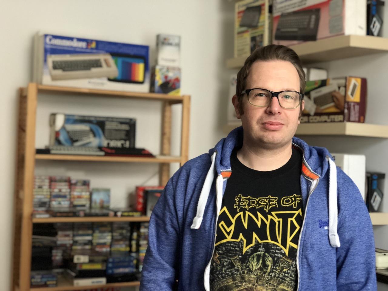 """Stefan Vogt ist Softwareentwickler und der Schöpfer von """"Hibernated"""". (Bild: André Eymann)"""