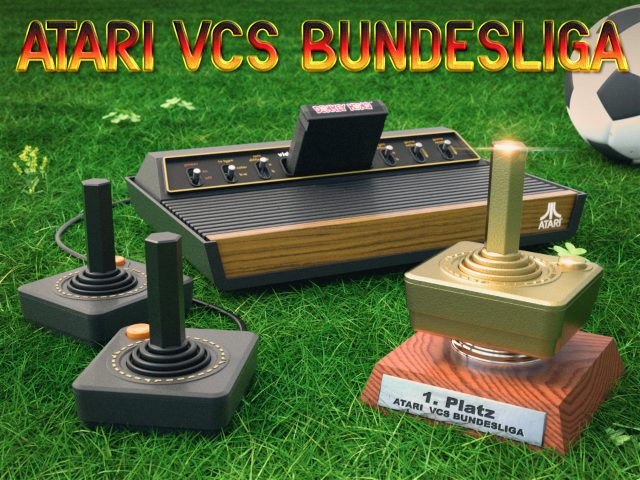 Die Atari VCS Bundesliga. (Bild: René Achter)