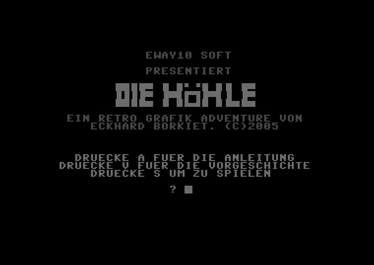 """Screenshot des Spiels """"Die Höhle"""" von Eway 10. Willkommen in der geheimnisvollen Welt von H.P. Lovecraft. (Bild: Eway 10)"""