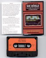"""Das Spiel """"Die Höhle"""" mit Kassette, Hülle und Anleitung. (Bild: Eway 10)"""