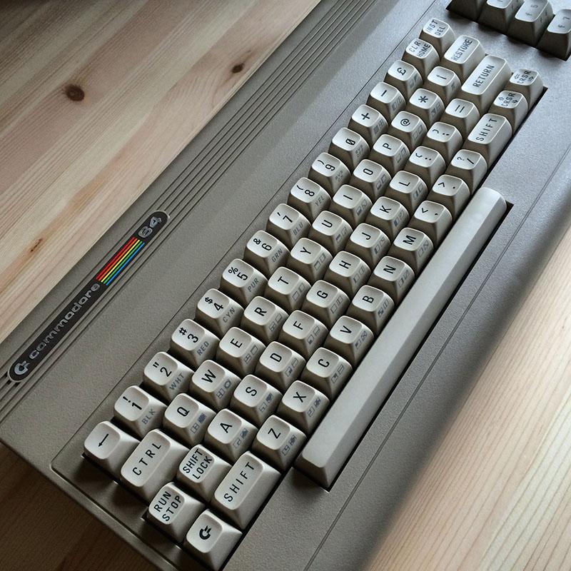 Der Commodore 64: der meistverkaufte Heimcomputer aller Zeiten. (Bild: Stefan Vogt)