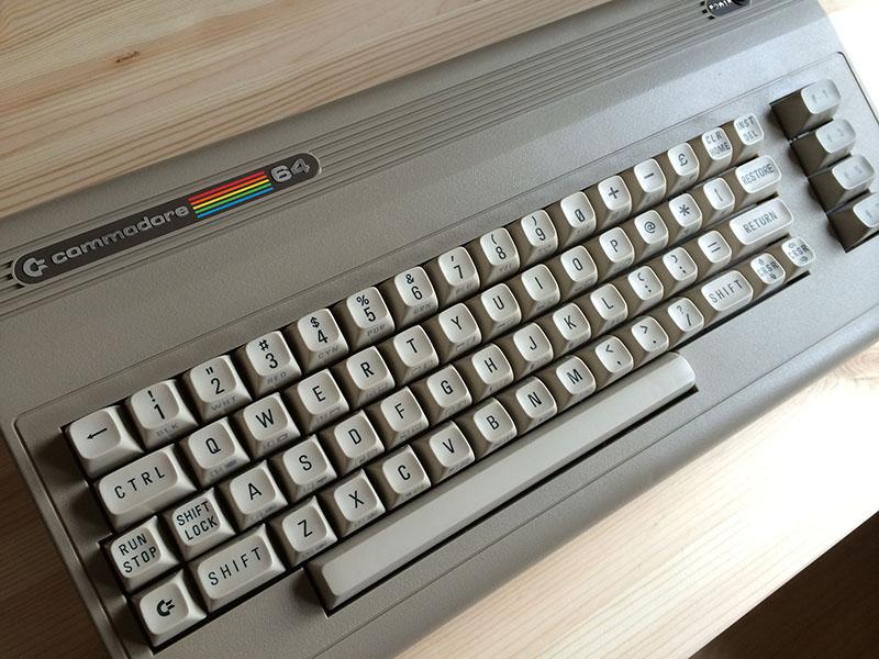 """C64 Model """"Aldi"""" (1987), Zustand: neu. (Bild: Stefan Vogt)"""