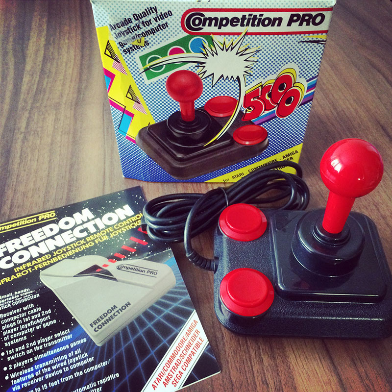 Competition Pro 5000 (1987), neu. (Bild: Stefan Vogt)