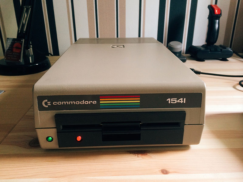 Commodore 1541, mint. (Bild: Stefan Vogt)