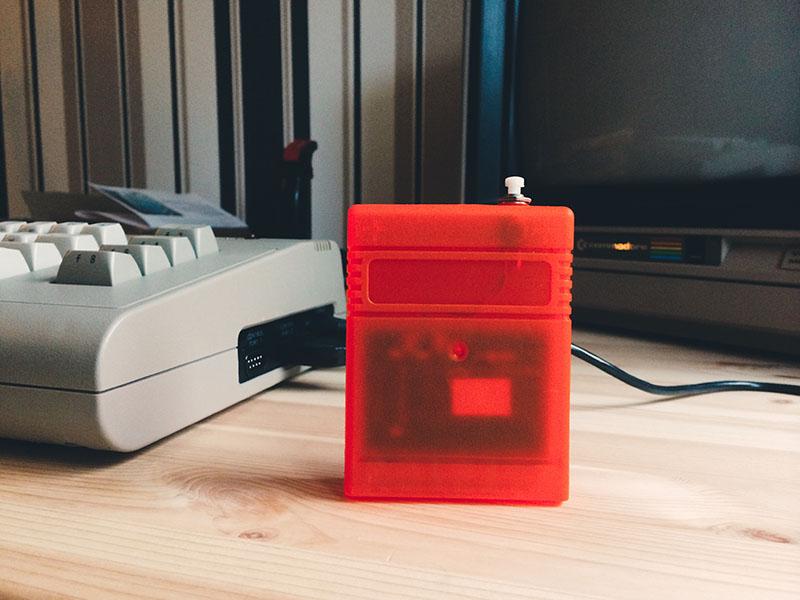 Epyx Fastload Reloaded Prototype (TFW8B). (Bild: Stefan Vogt)