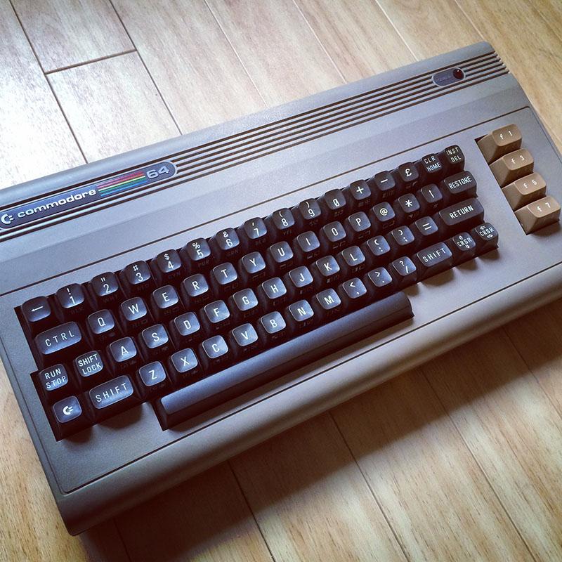 Commodore 64, WG-A (1983), SEHR GUTER ZUSTAND. (Bild: Stefan Vogt)
