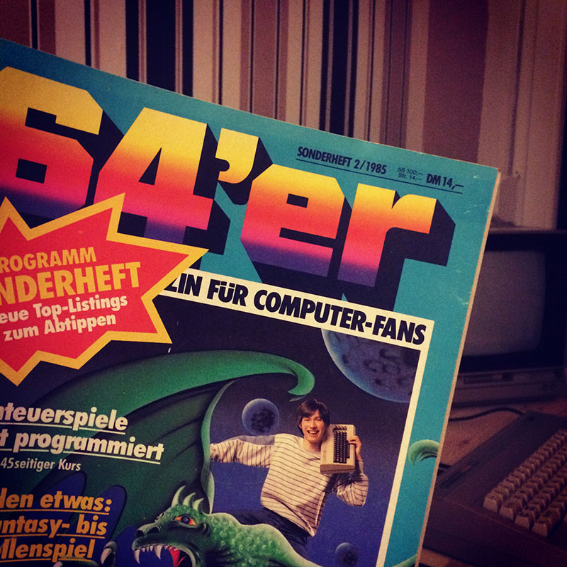 64er Sonderausgabe (1985), Programmieren von Adventures. (Bild: Stefan Vogt)