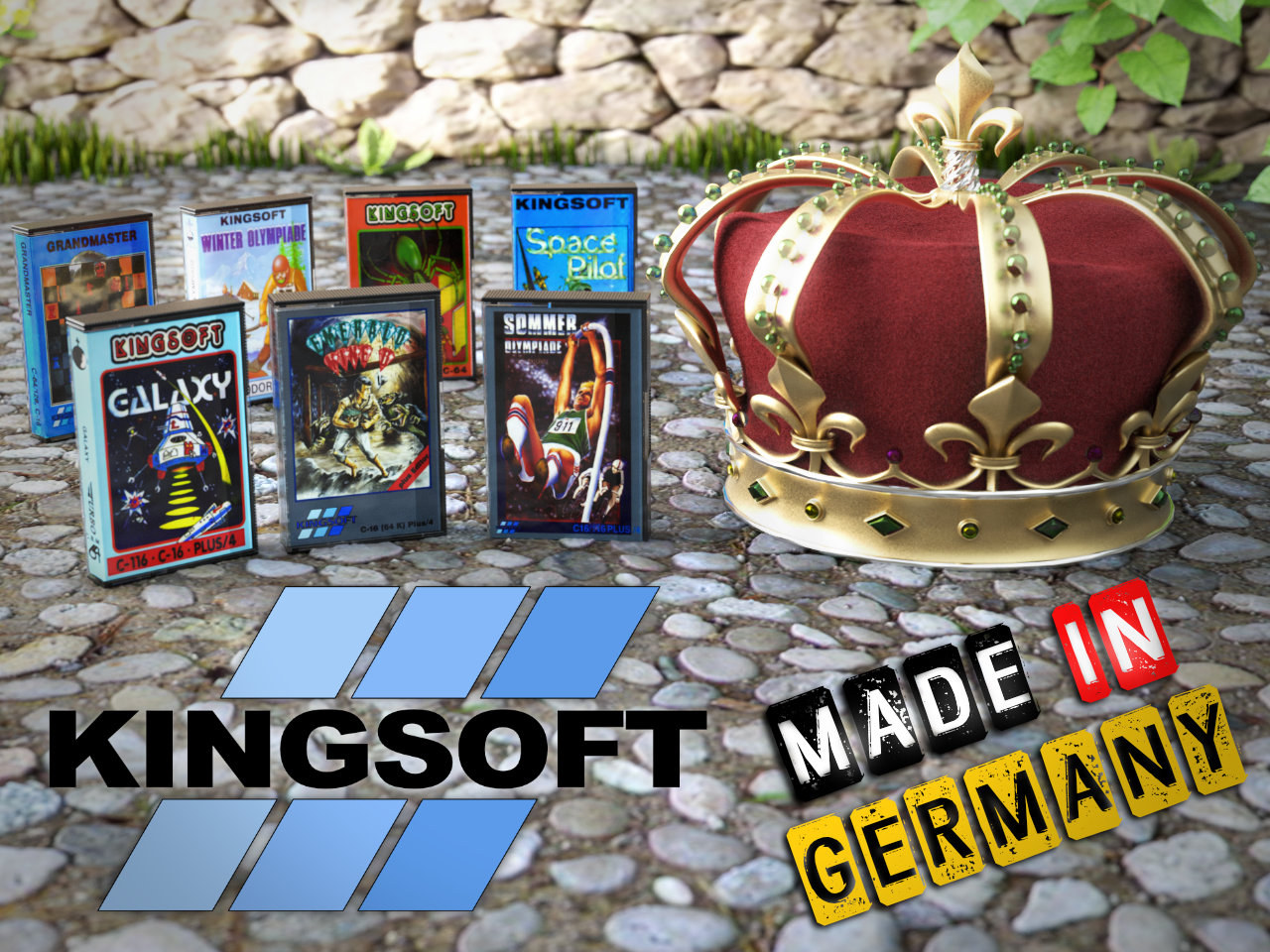 Kingsoft - Made in Germany. (Bild: René Achter)