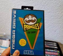 Pringles Homebrew-Game für den SEGA Mega Drive. (Bild: Rüdiger Dinges)