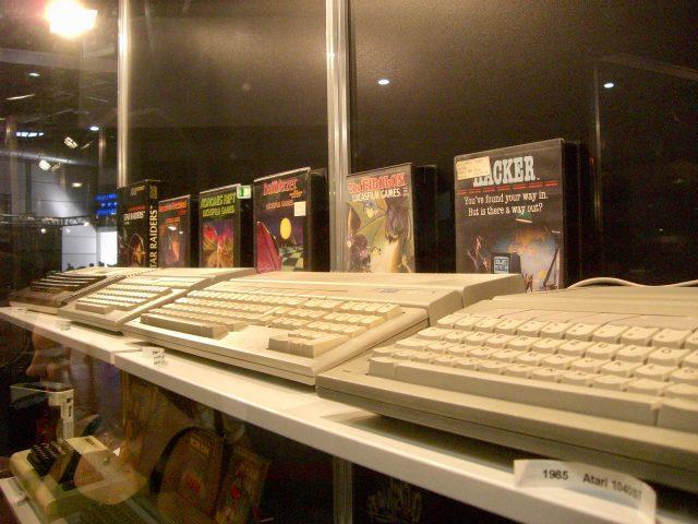Atari-Heimcomputer aus den Achtzigern. (Bild: André Eymann)