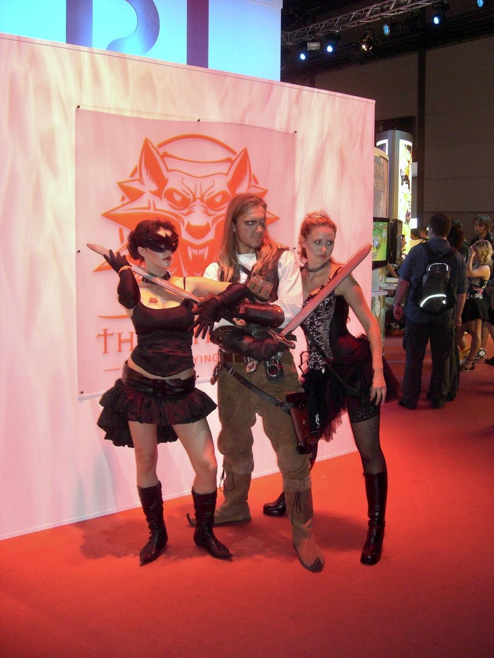 The Witcher als Cosplay. Teil 1 des Spiels erschien im Oktober 2007. (Bild: André Eymann)