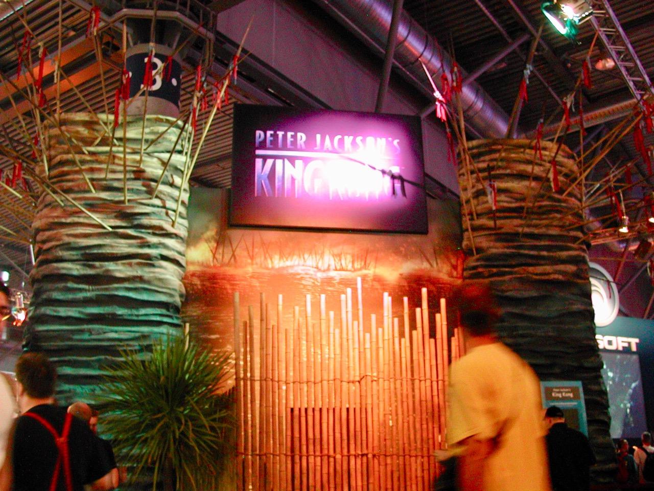 Der Stand von Peter Jackson's King Kong. (Bild: André Eymann)