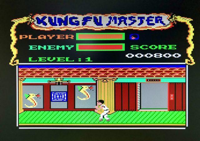 Kung-Fu Master für den Amstrad CPC von 1987. (Bild: André Eymann)
