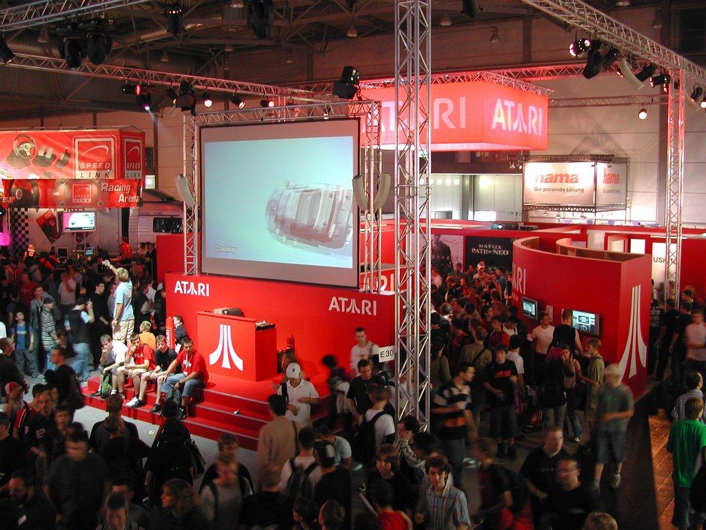 Atari zieht auch 2005 noch viele junge Videospieler an. (Bild: Andre Eymann)