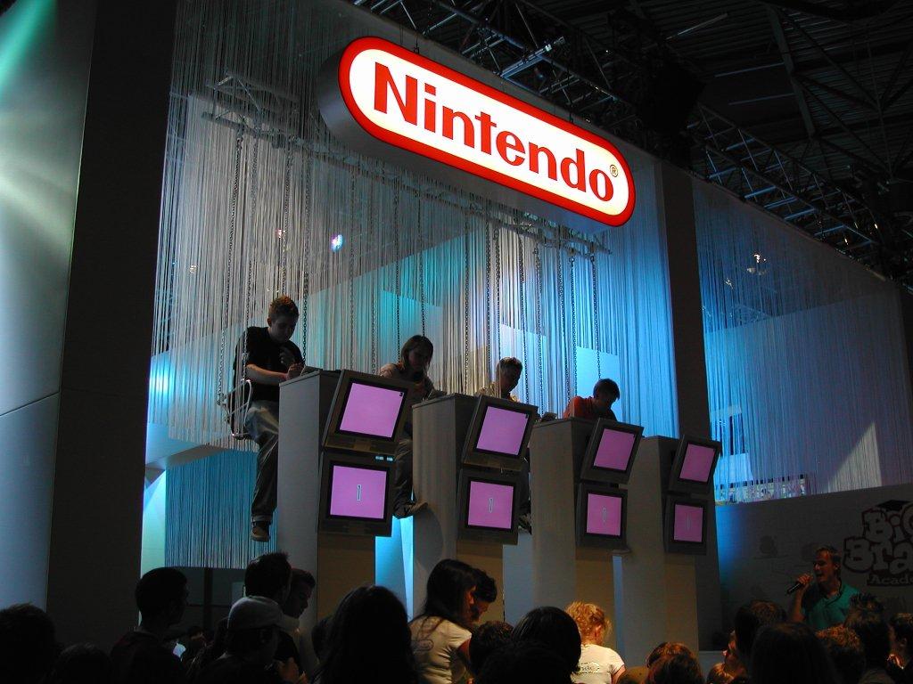 Bei Nintendo durfte man im Kettenkarussell spielen (Bild: Andre Eymann)