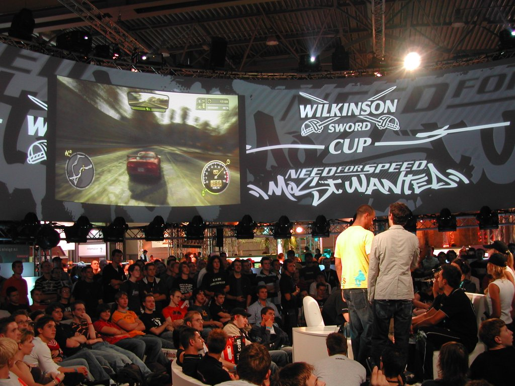 Live-Rennen mit Need for Speed: Most Wanted von Electronic Arts (Bild: Andre Eymann)