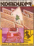Titelblatt des polnischen Computermagazins Komputer vom Mai 1987. (Bild: Komputer)