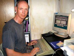 Nach wie vor arbeite ich regelmäßig mit meinem Atari Falcon, Baujahr 1993. (Bild: Torsten Othmer)