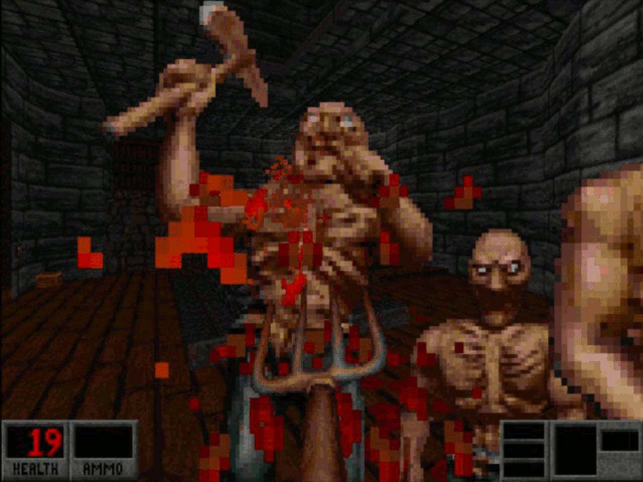 Blood is a first-person shooter video game from 1997 developed by Monolith Productions. (Bild: André Eymann)