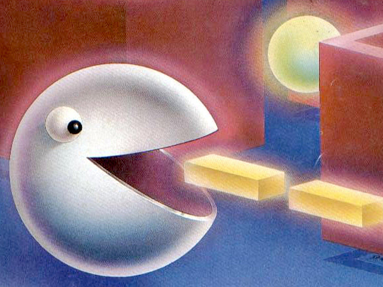 "Pac-Man auf dem Cover der ""Video Games"". (Bild: Pumpkin Press, Inc.)"