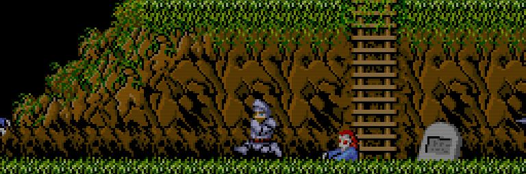 Hilfe ein Zombie! Die Level von Ghosts n Goblins beherbergen so manch gruselige Überraschung. (Bild: Capcom)