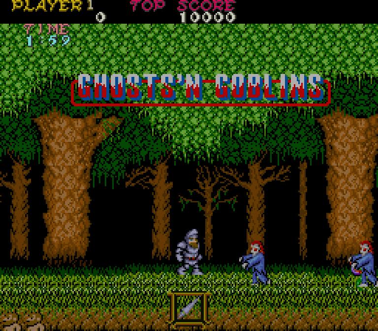 Danach muss der Held einen Wald durchqueren. Auch hier begegnen ihm Untote, die aus der Erde aufsteigen. (Bild: Capcom)