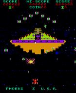 Phoenix spielt seine Farben beeindruckend aus. Das Weltraumspektakel gleicht einem Farbrausch. (Bild: Amstar)