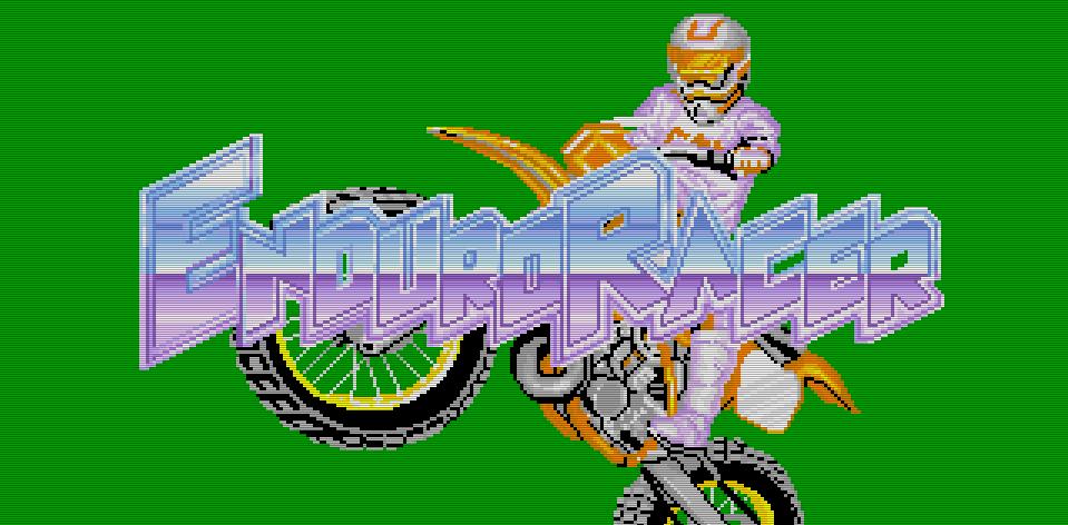 Hommage an die harten Kerle: Enduro Racer ist ein erdiges Motoradspiel für Einzelgänger. (Bild: Sega)