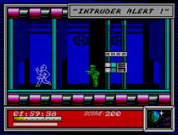 Dan Dare (1986) gehörte zu meinen Lieblingsspielen. Grafisch gehört es meiner Meinung nach zu den ansprechendsten Titeln - weit entfernt von all den Monochrom-Sünden, die dem Speccy einen schlechten Ruf einbrachten. (Bild: Virgin/EA)