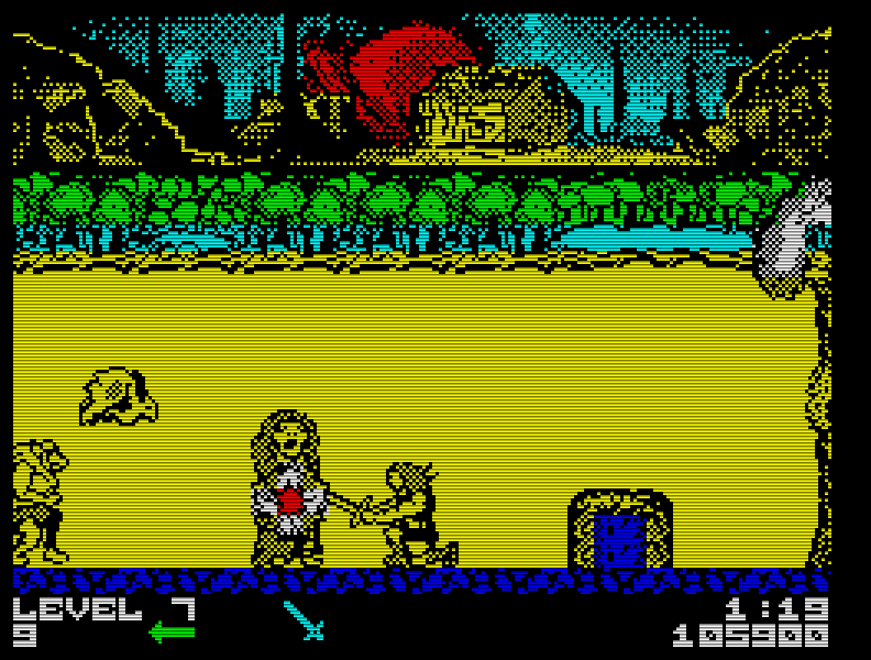 Die gleichnamige Serie war mir seinerzeit unbekannt, dennoch wusste Thundercats (1987) mich mit seinen bunten Grafiken und der tollen Hubbard-Musik zu überzeugen. (Bild: Elite)