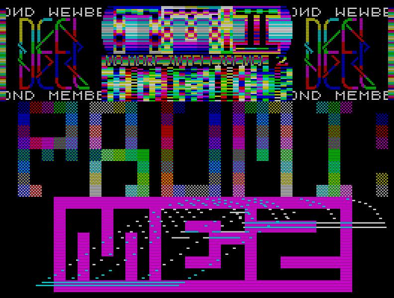 Einer der wenigen anderen deutschen Democoder, der sehr talentierte MEZ of DD, zeigte, wie man es richtig macht: No More Intelligence 2 (1991). (Bild: MEZ)