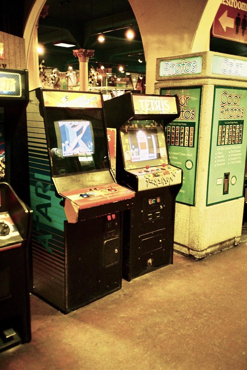 Sogar einen Original Tetris-Automat bietet die Arcade. (Bild: André Eymann)